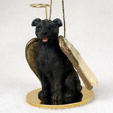 Staffordshire Bull Terrier Dog Figurine Angel Statue