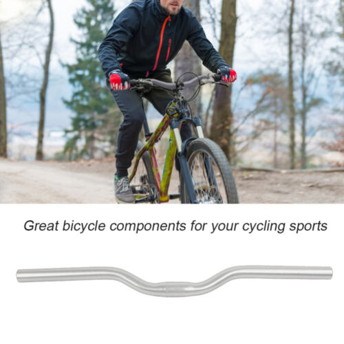 MTB Mountain Bike Bicycle Riser Handlebar 25.4*520mm  Aluminum Alloy Handlebars