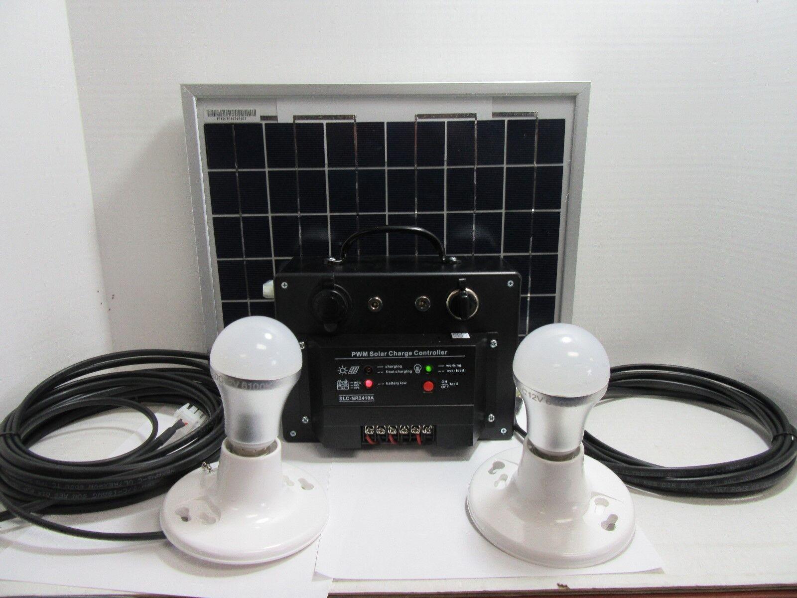 Portátiles De Energía Solar Y Led Sistema De Iluminación