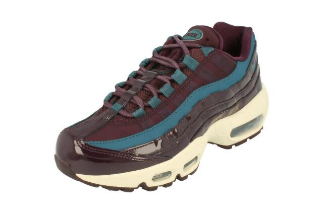 Nike WMNS Air Max 95 SE PRM Port Wine Space Blue Ah8697 600 Women 8 Newnolid