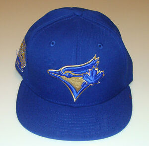 ff017670cd0 New Era Toronto Blue Jays 59fifty 7 3 4 Cap Hat MLB 59th Anniversary ...