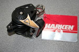Harken-2613-Carbo-Block-40mm-Triple-Ratchet-Cam-Becket-NEW