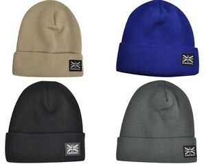 7b1a71903ab Image is loading Authentic-Mens-KANGOL-Headwear-Cuff-Beanie-Pull-On-