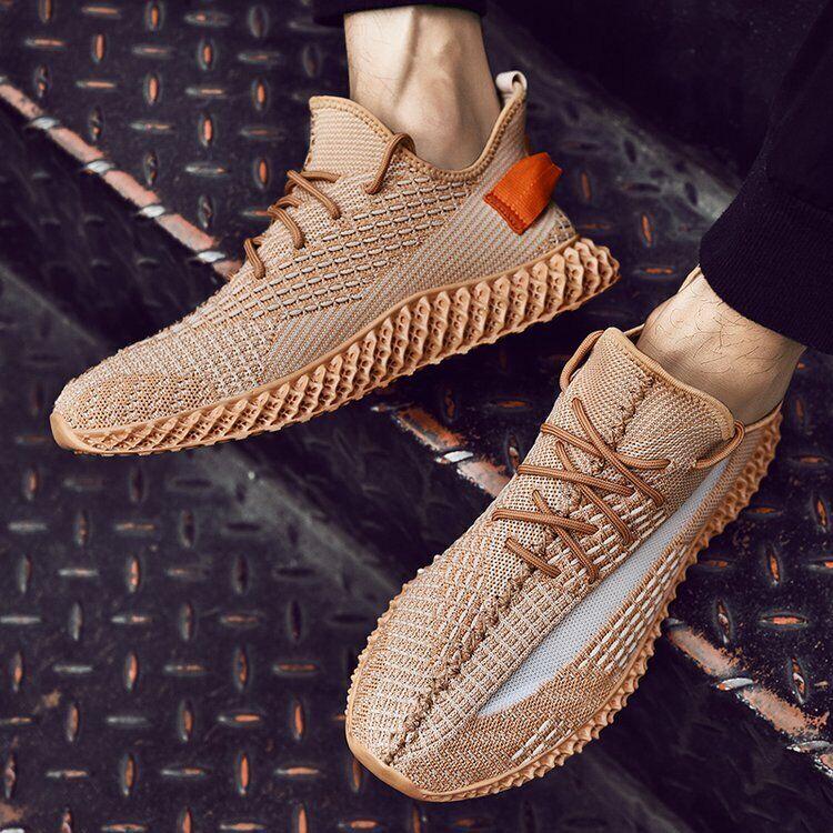 Zapatillas para hombre Correr Deportes con cordones de zapatos atléticos de Malla Transpirable Caliente Senderismo