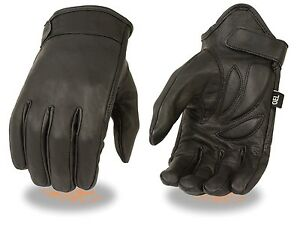 Cruiser-Leather-Motorcycle-Motorbike-Gloves-CowHide-Leather