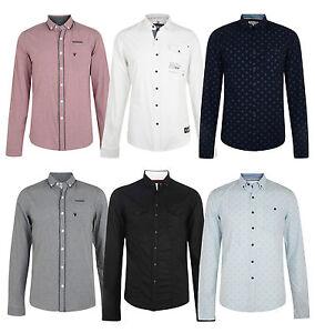 f249414e635 Details about Smith & Jones Esprit Men's New Long Sleeve Slim Fit Shirts  Check Plain Pattern