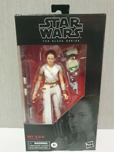 Star Wars The Black Series REY & D-0  New in Box Original Hasbro