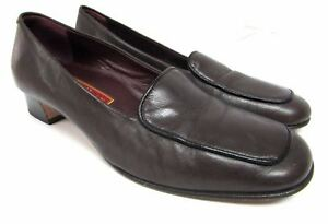 01ac4c36b3f Cole Haan women s size 7.5 B comfort shoes brown leather loafers ...