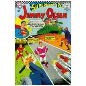 Superman-039-s-Pal-Jimmy-Olsen-1954-series-99-in-VG-condition-DC-comics-uy
