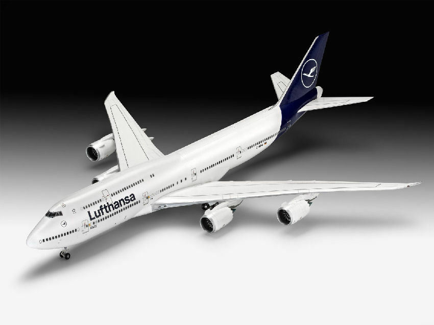 Boeing 747-8 Lufthansa  NEW LIVERY  Plastic Kit 1 144 Model 03891 REVELL
