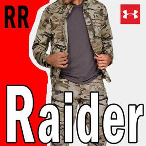 "MEN'S UNDER ARMOUR UA RIDGE REAPER RAIDER JACKET ""BLACK LABEL"" BIG GAME HUNT L"