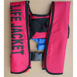 Adult-Manual-Automatic-Inflatable-Life-Jacket-Inflation-150N-PFD-Survival-Vest