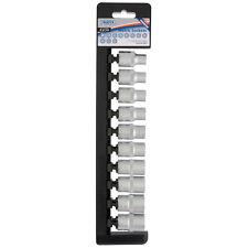 """Draper Expert ® 10 PEZZI 1/2"""" unità 6 Point standard Socket Set 9 - 19mm 85815"""