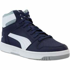 Puma-Rebound-Layup-Sl-Lace-Up-Mens-Sneakers-Shoes-Casual-Black