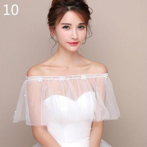 Bridal Lace Shrug Bolero Capes Tops Shawl Capelet Tippet Tutu Tulle Wedding Chic