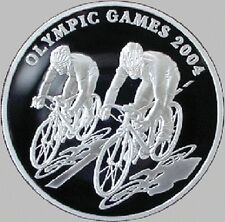 Kazakhstan / Kasachstan - 100 Tenge Olympic Games 2004. Cycling