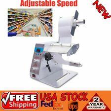 Automatic Auto Label Dispenser Stripper Separating Machine Adjustable Speed New