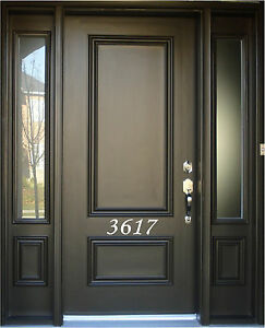 Personalized House Number Stickers Custom Address Numbers Vinyl - Custom vinyl stickers ebay