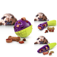 Green/Purple Pet Dog Squeaking Chew Tooth Cleaning Toys For Small Dog Puppies