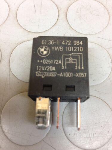 1.6 BENZINA 85KW 3P RELE/' RELAY 61.36-1472984 2003 MINI COOPER R50