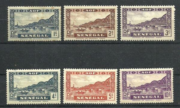 Capable Sénégal - Colonie Française - 6 Timbres Neufs * - 1935-39
