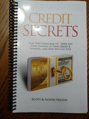 credit secrets book amazon