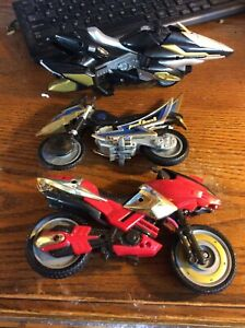 MMPR. Power Rangers Cycle lot 3 Vintage
