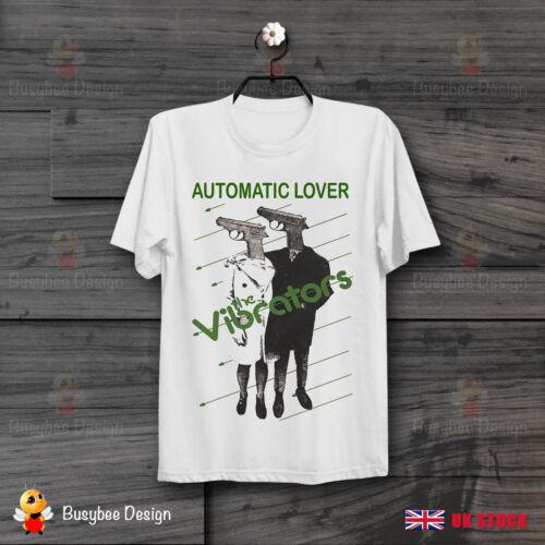 The Vibrators Automatic Lover Punk Cool Vintage Unisex T Shirt B285