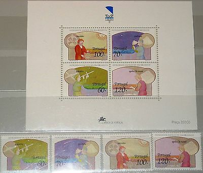 PORTUGAL 1992 1920-23 Block 84 1910-1913a Instruments of Navigation Museum MNH