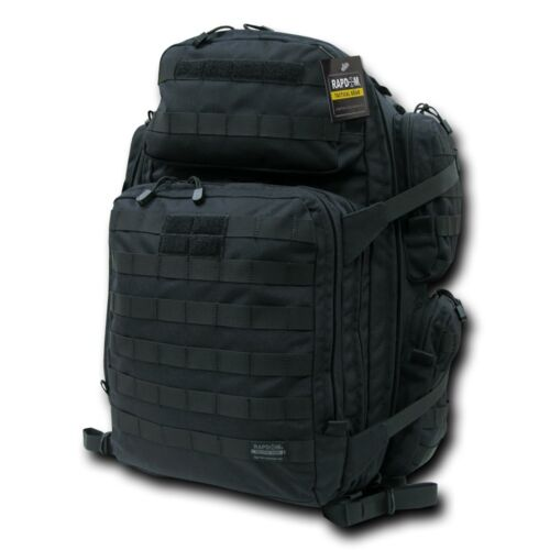 Rapdom Tactical Military Army Pack Backpack Padded Survival Hiking Outdoor