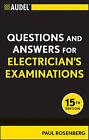 Audel Questions and Answers for Electrician's Examinations by Paul Rosenberg (Paperback, 2011)