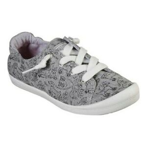 Skechers-Women-039-s-BOBS-Beach-Bingo-Love-Pups-Sneaker
