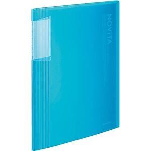 Kokuyo Clear File Noviita A4 Size 40pocket Blue