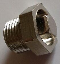 Gusseisen Kühler - Stahl - Entlüftungsventil Schraube / Entlüftung 0.3cm Chrom