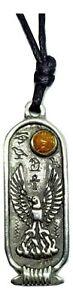 Phoenix-Egyptian-Zodiac-Pendant-Immortality-June-July-Cartouche-Cord-Necklace