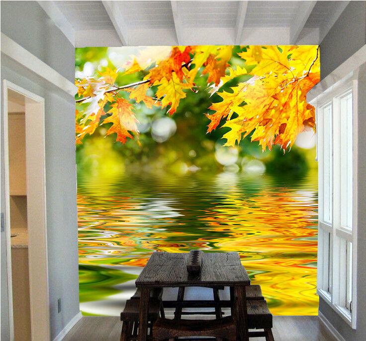 3D Tree Maple 445 Wallpaper Murals Wall Print Wallpaper Mural AJ WALL AU Lemon