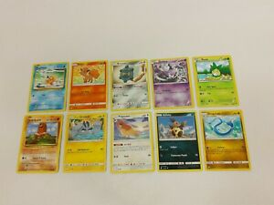 10-carte-pokemon-card-original-lot-c079