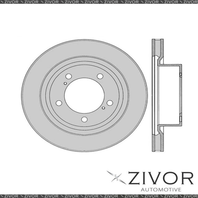 PROTEX Rotor - Front For TOYOTA TUNDRA USK56L 2D Ute 4WD 2009 - 2013 By ZIVOR