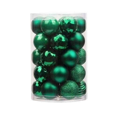 Christmas Balls Baubles Xmas Tree Hanging Ornament Xmas Decor UK