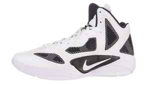 Nike Zoom Hyperfuse 2011 TB White/Black Men's 12.5