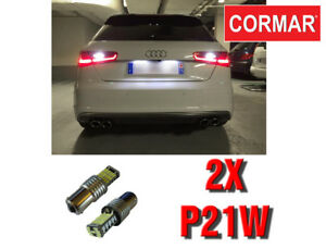 LAMPADE-RETROMARCIA-NO-ERROR-LED-P21W-CANBUS-PER-AUDI-A3-8V-SPORTBACK-6000K
