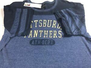 Pittsburgh-Panthers-T-Shirt-Mens-XL-2XL-Student-Alumni-Camp-David-Graduate-Soft