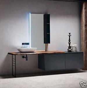 Dettagli su JACANA JA28 – Mobile luxury arredo bagno L.240 cm  personalizzabile COMPAB
