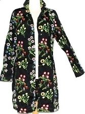 XS - S Vintage Style Embroidered Gypsy Hippie Boho Bohemian Jacket Trench Coat