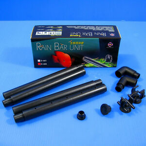"Sporting Rain Bar Unit For 23-30"" Fish Tank Outflow Pipe 12/16mm Excellent Quality Pet Supplies Pumps (water)"