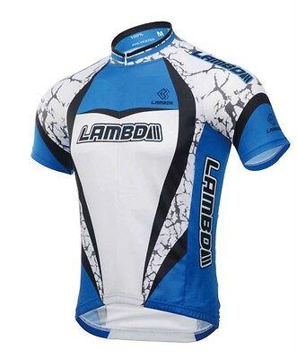 LAMBDA professional Cycling bike Clothing, Short Sleeves Jersey shirt, CM1311BSJ