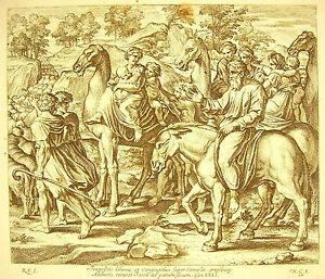 Jacob-Se-Leva-Gen-Xxxi-Camels-The-Bible-Nico-Chaperon-1649-Ap-Raphael-Vatican