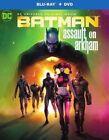 Batman Assault on Arkham 2pc DVD BLURAY