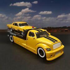 2009 Maisto All Stars Elite Police Flatbed 65 Pontiac GTO Display Case for sale online
