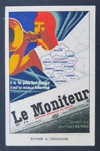 BUVARD-LE-MONITEUR-journal-Allier-Creuse-Correze-Cantal-Lozere-Aveyron-Clermont